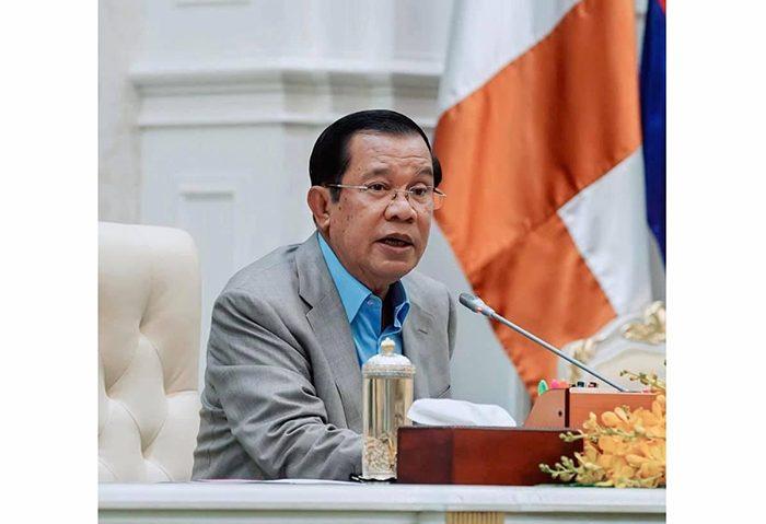 感染 カンボジア
