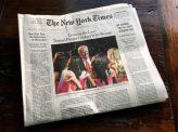トランプ選対、NYT訴える
