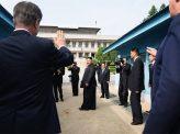 挑発する北朝鮮と米軍の動き