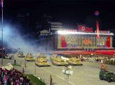 北朝鮮、軍事パレードと金正恩の謝意