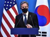 ブリンケン国務長官「北朝鮮の非核化」強調