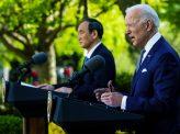 日米共同声明、台湾問題に言及