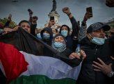 仏、パレスチナ支援デモ激化