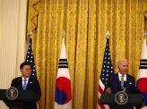 米韓同盟強化優先で北朝鮮非核化後退