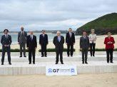 G7首脳宣言、中国名指しは1か所のみ
