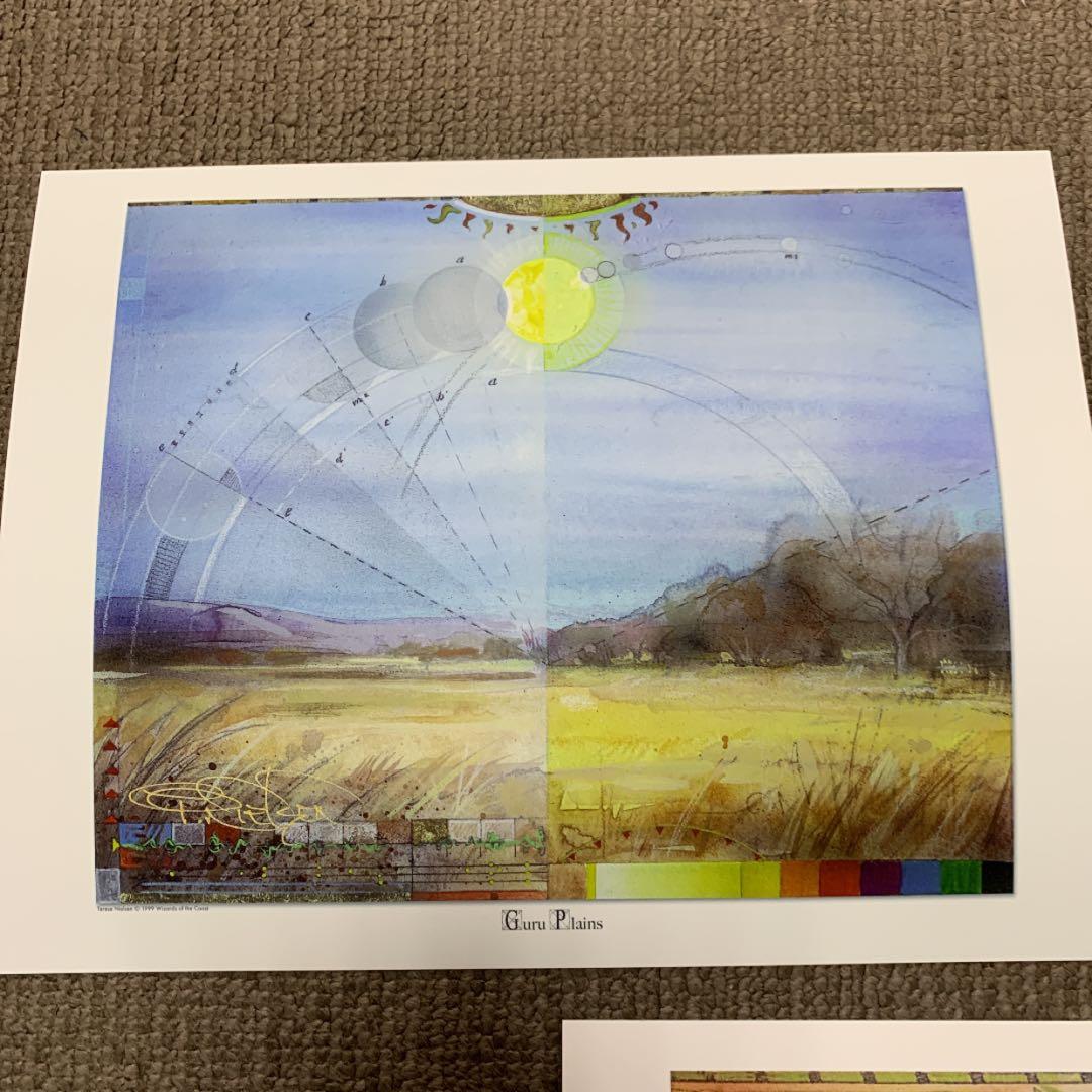 ★最安値★Guru land サイン入りアートプリント5種セット