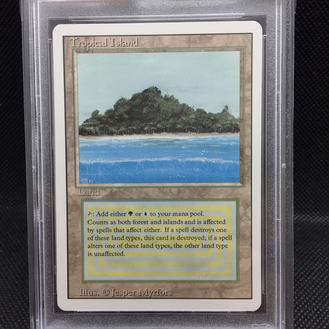 Tropical Island REVISED PSA 9 MINT