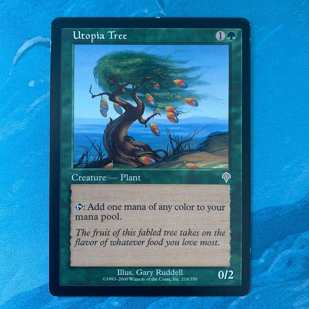 ♤MTG ユートピアの木