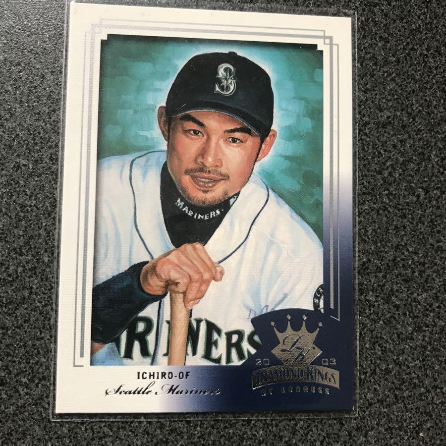 イチローマリナーズとBBMプロ野球カード