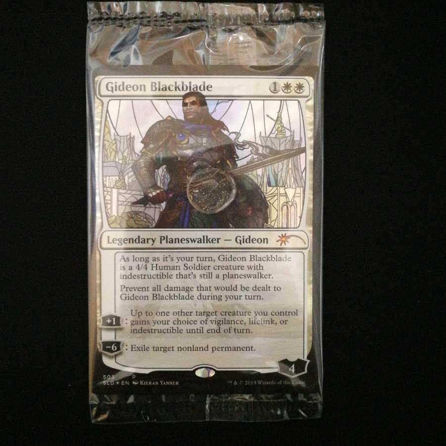 黒き剣のギデオン ステンドグラス Foil  Secret Lair