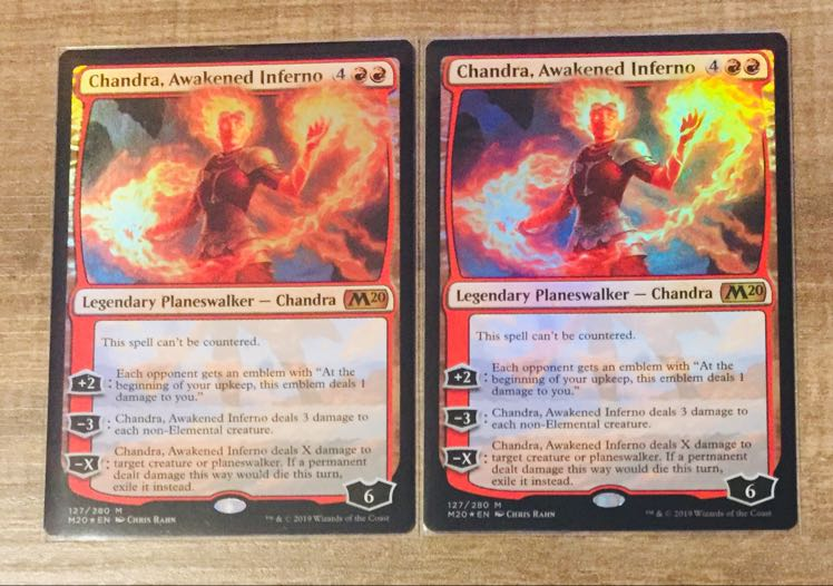 M Inferno Titan FOIL Duels of the Planeswalkers SP MTG Magic -