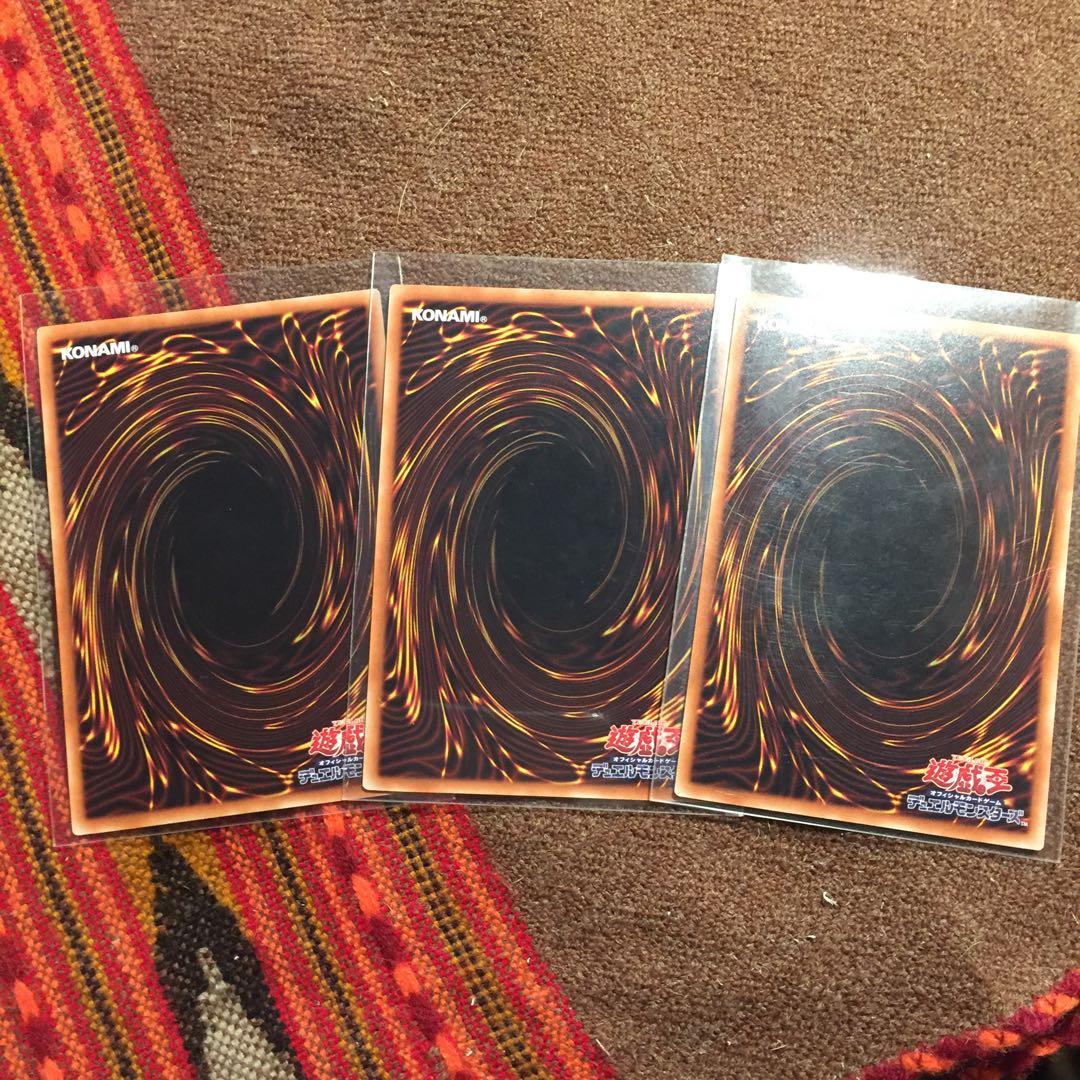 遊戯王OCG 復活の福音 シク3枚セット 美品