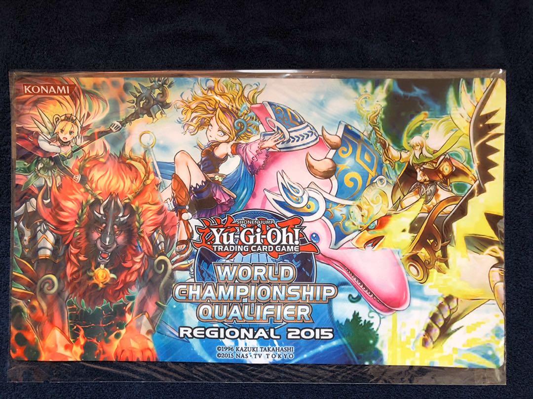 遊戯王 WCQ2015 精霊獣騎 プレイマット