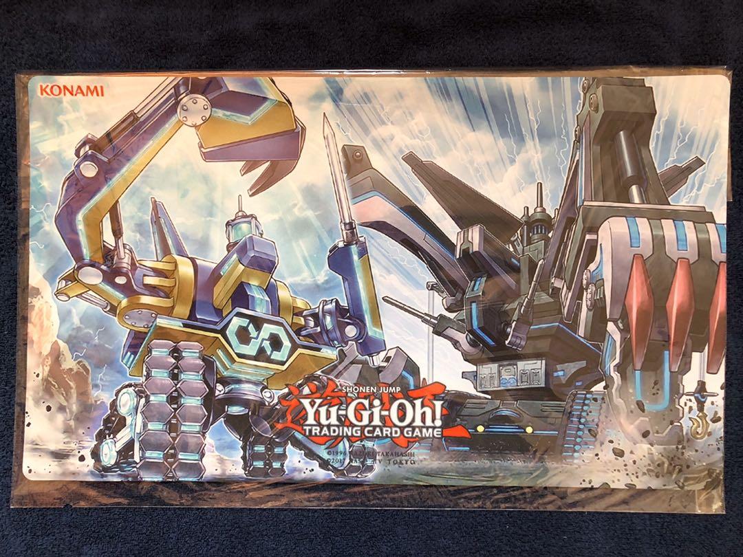 遊戯王 無限起動 ゴライアス 無限起動要塞 メガトンゲイル プレイマット