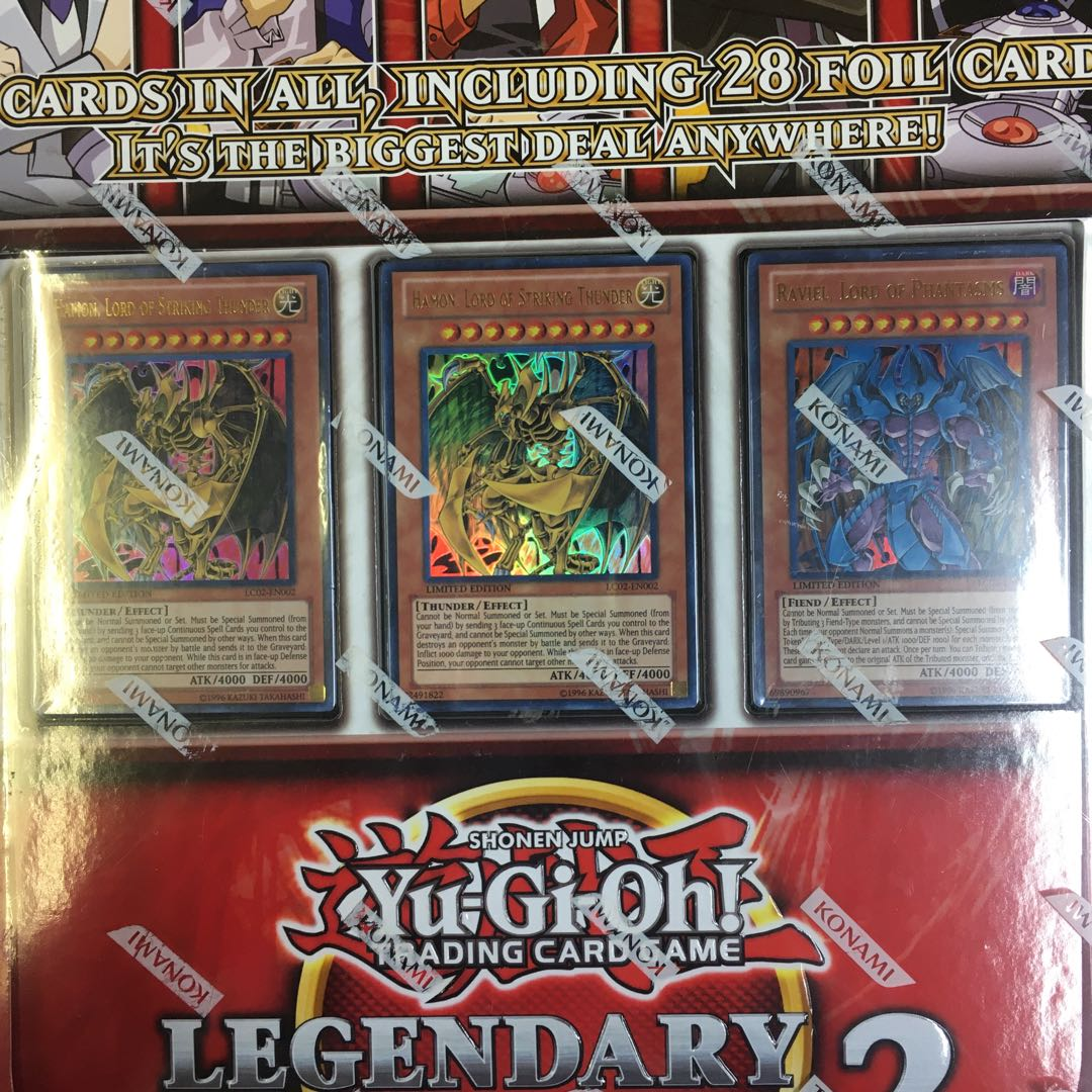 エラー品 Yu-Gi-Oh! LEGENDARY COLLECTION2未開封