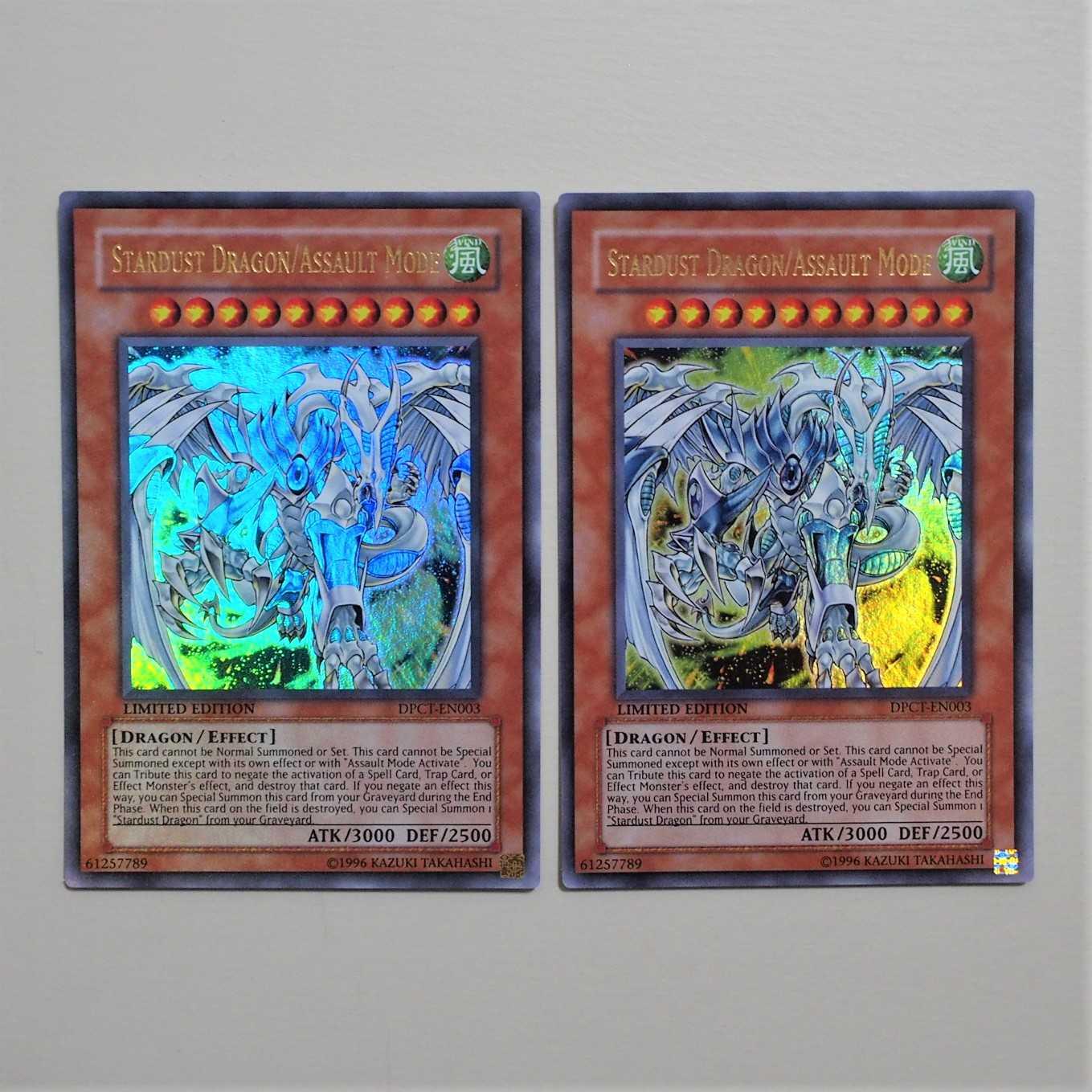 遊戯王 英語版 スターダスト・ドラゴン/バスター UR 2枚 DPCT