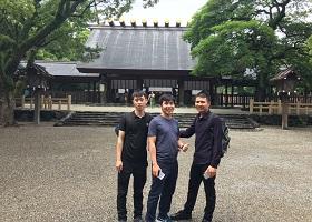 ベトナム人技能実習生を日本建築見学へ