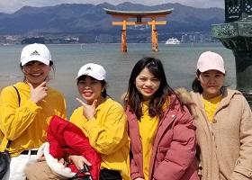 広島での思い出に宮島観光