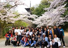ベトナム人技能実習生と日本人社員で楽しい春の休日