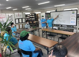 技能実習生による「ベトナム語講座」を再開