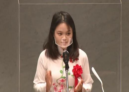 最優秀賞受賞者作品発表 レー ティ イエンさん