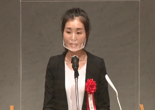 最優秀賞受賞者作品発表 张 巧梅さん
