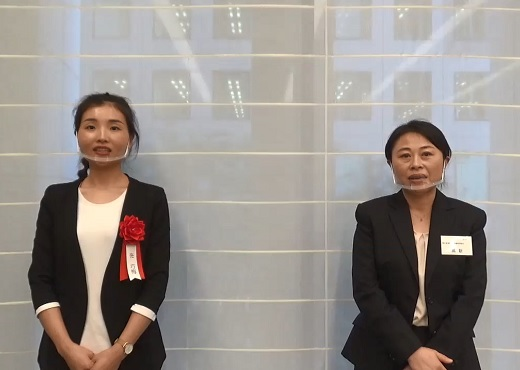 最優秀賞 张 巧梅さん・西日本海外業務支援協同組合 高 新さん インタビュー