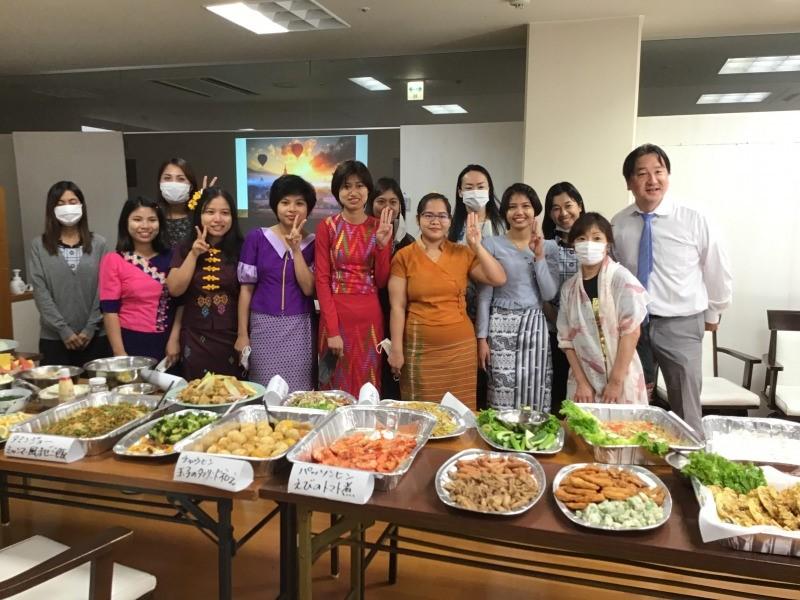 ミャンマー料理を楽しむ会を開催