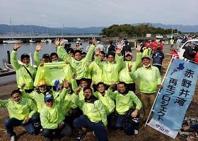 「琵琶湖底垃圾回收大作战」印度尼西亚技能实习生也参与其中