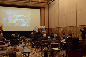 コロンビア貿易振興機構総裁会見 写真 4
