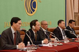 中国経済学者代表団 写真 6