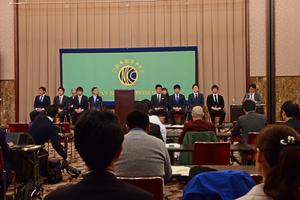 サッカー選手による寄付・社会貢献組織「SPOON」設立発表会見 写真 13