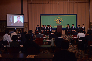 サッカー選手による寄付・社会貢献組織「SPOON」設立発表会見 写真 11