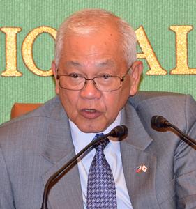 ラウレル5世 駐日フィリピン大使 昼食会 写真 1