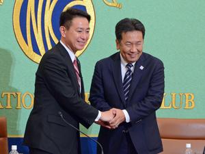 民進党代表選立候補者討論会 写真 4