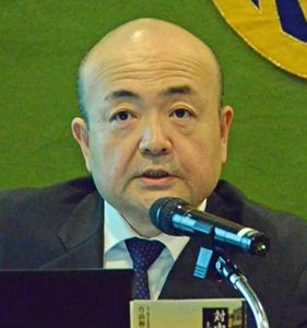 片山和之 在上海総領事 著者と語る『対中外交の蹉跌 上海と日本人外交官』 写真 1