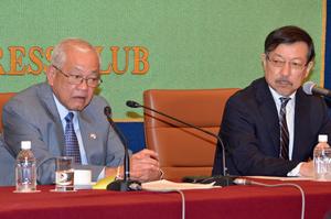 ラウレル5世 駐日フィリピン大使 昼食会 写真 3