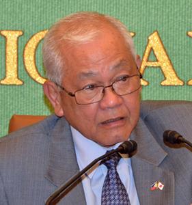 ラウレル5世 駐日フィリピン大使 昼食会 写真 2