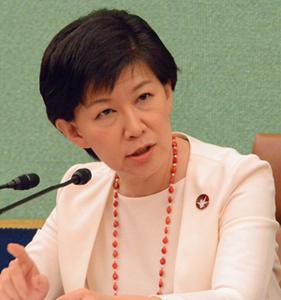 中満泉 国連軍縮担当上級代表(事務次長)会見 写真 2
