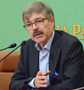 ハンス・カール・フォン・ヴェアテルン 駐日ドイツ大使 会見 写真 1