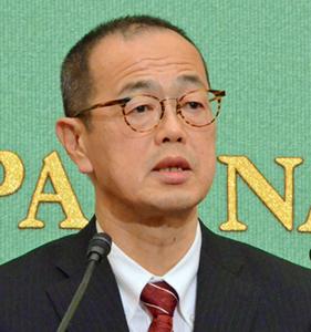 更田豊志 原子力規制委員会委員長 記者会見 写真 1