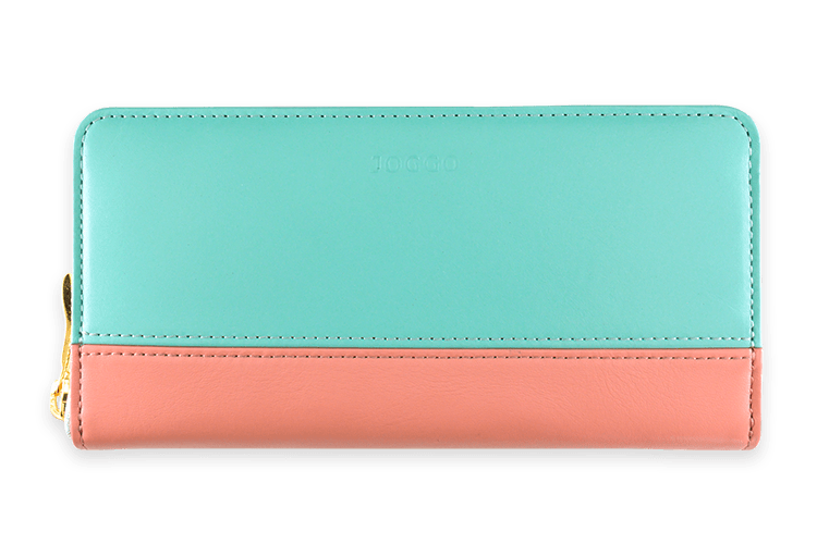 2019 SUMMER JOGGO LIMITED COLOR 7月限定カラー『ミントグリーン』 レディースラウンドファスナー財布