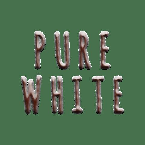 2019 NEW LIMITED LEATHER エンボスとスムースの質感MIXで遊ぶ。期間限定エンボスレザー『ブラックネイビー&ピュアホワイト』 ピュアホワイト