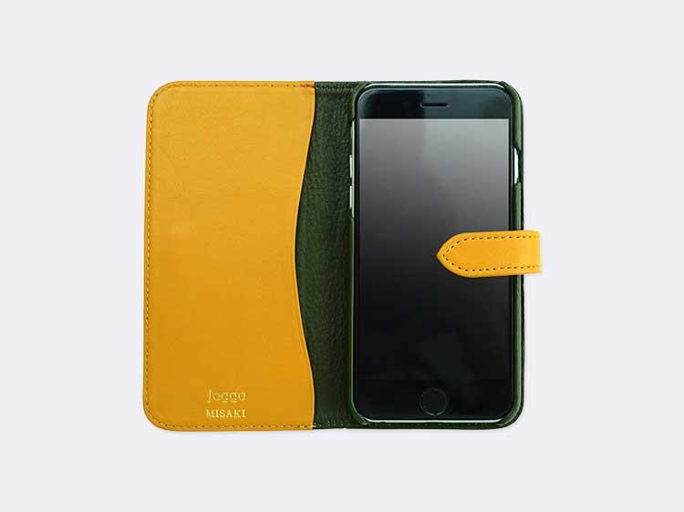 本革手帳型iPhone7ケース