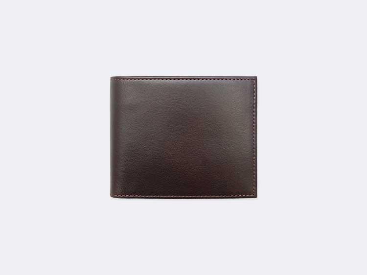 二つ折り財布(小銭入れ付き)