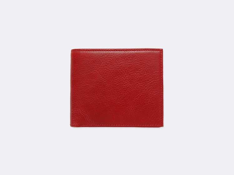 二つ折り財布(小銭入れなし)
