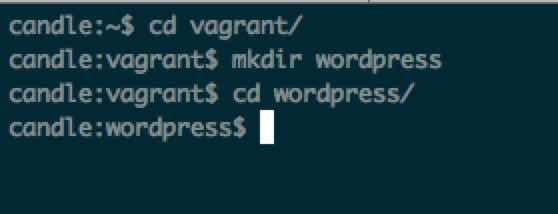 mkdir_wordpress