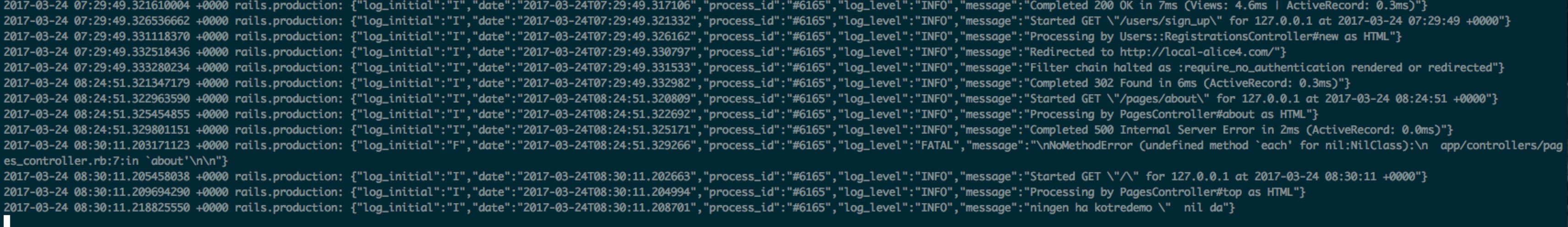 Collect the Rails 4 production log with td-agent – joppot