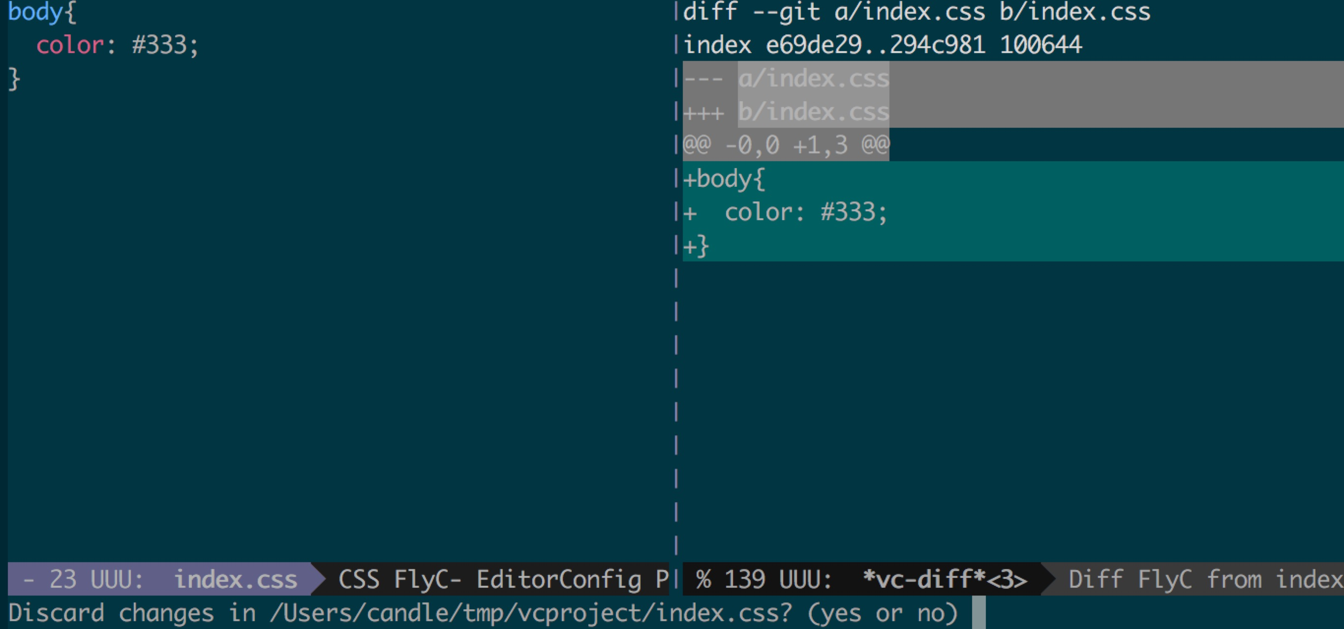 Using vc to manage git on emacs25 – joppot