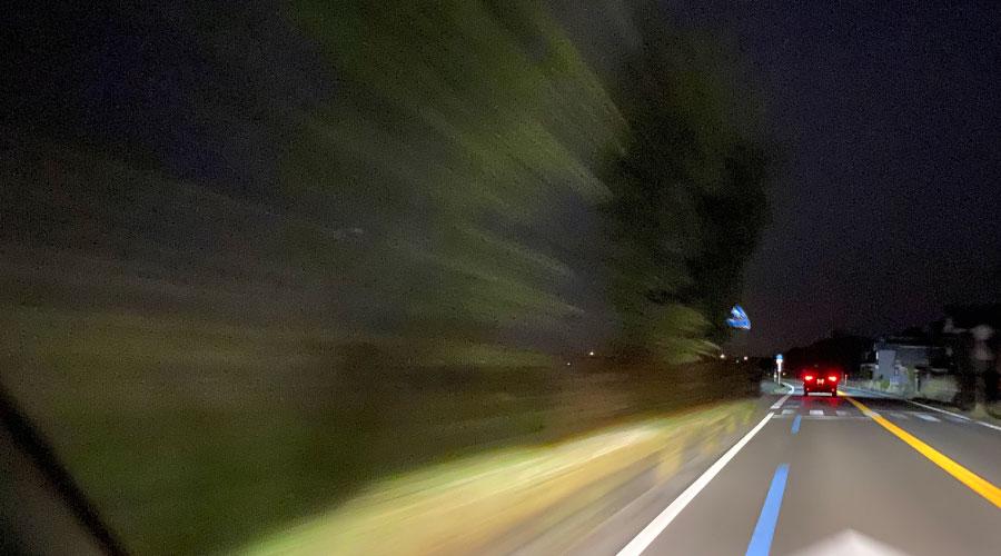 琵琶湖の道中